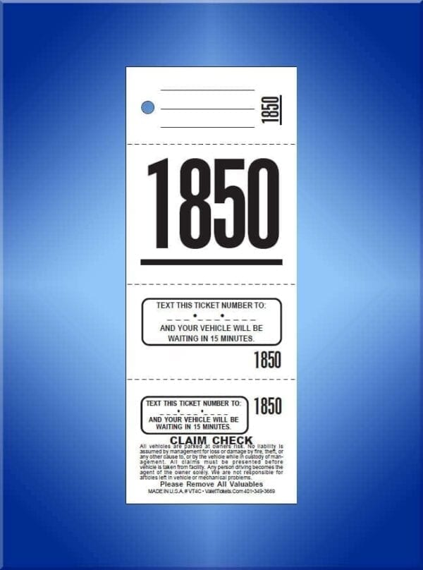 #TVT4                           4 Part Write In Texting Tickets