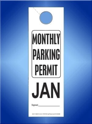 Monthly Parking Permit #VT3VPHA4